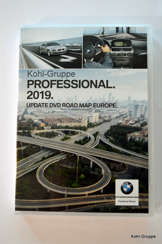 orig. BMW Navi Professional 2019 Update DVD Road Map Europa Europe 65902465032