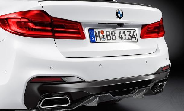BMW M Performance Schalldämpfer 5er G30 G31 530i 530iX 6er G32 GT 630i