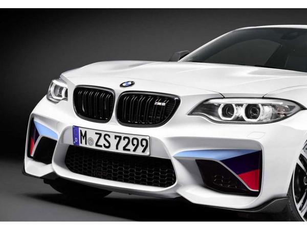 orig. BMW M2 F87 M Performance Frontziergitter Ziergitter Schwarz Hochglanz Rechts