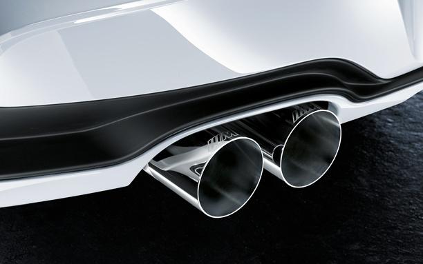 BMW M Performance Schalldämpfer 3er F30 F31 4er F32 F33 F36 Schaltgetriebe