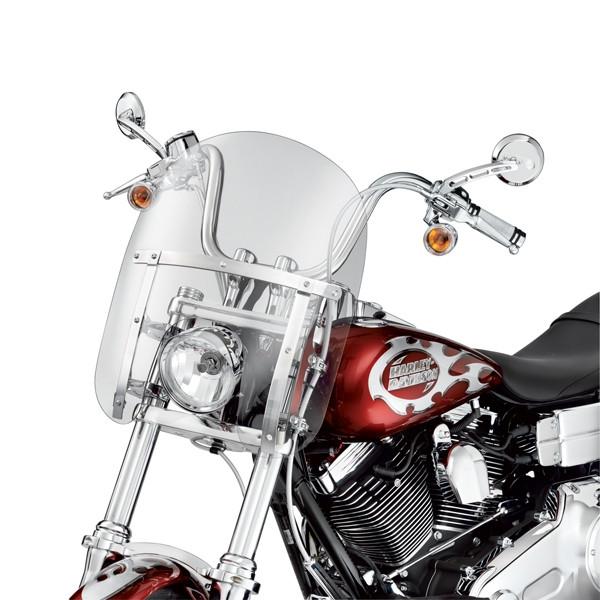 Harley Davidson Abnehmbare Kompakt-Windschutzscheibe 58444-06