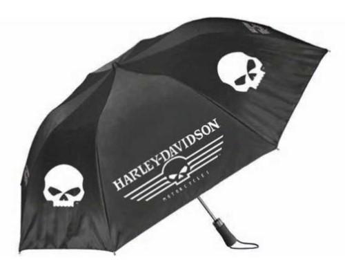 HD Harley-Davidson Regenschirm Linear Skull schwarz weiß UMB119988