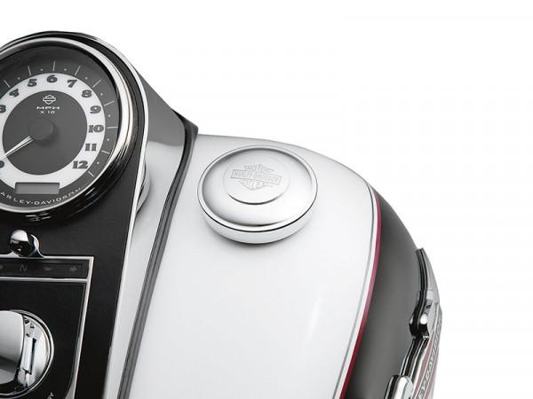 Harley Davidson Selbstschließender Tankdeckel mit Bar & Shield® Logo 61100129