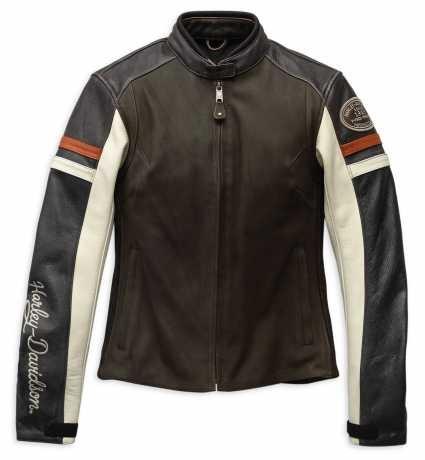 "Davidson Vintage 19ew Lederjacke Look Harley 98044 ""delmita"" Herren b76ygf"