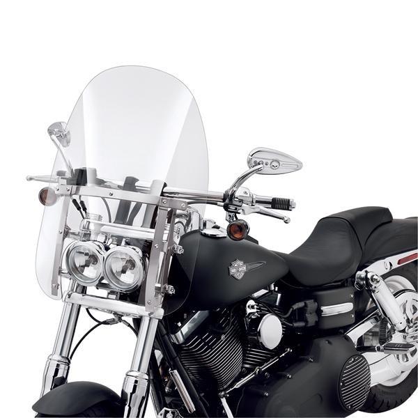 Harley Davidson Abnehmbare Kompakt-Windschutzscheibe 57338-08