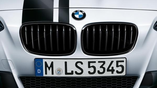 orig. BMW M Performance 3er E92 E93 LCI Frontziergitter Ziergitter schwarz Re + Li