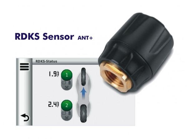 Garmin RDKS Ventilkappe, Reifendruck-Kontrollsystem (ANT+) für zumo 590/ 595LM und zumo 345/ 390/ 39