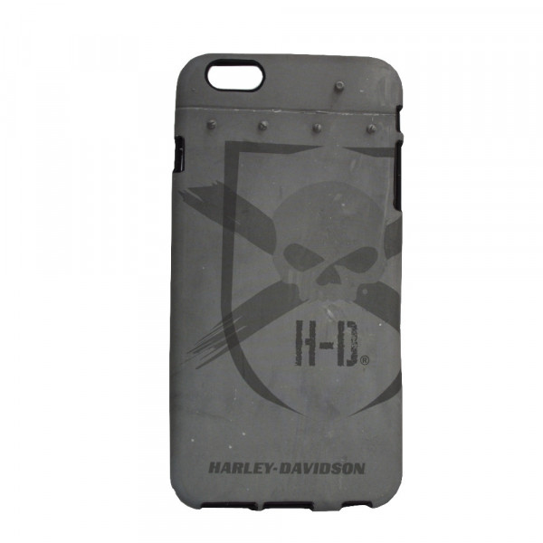 Harley-Davidson Phone Shell - iPhone 6/6S Plus Distressed Skull TPU