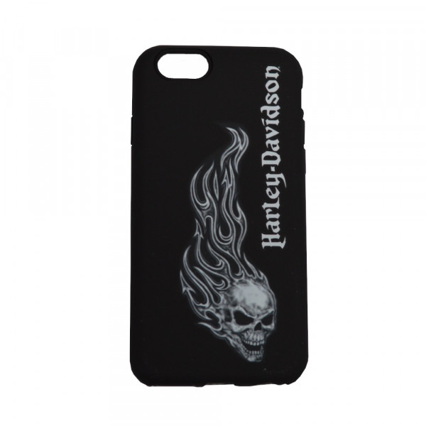 HD Iphone 6/6s Handyschale Hülle Silikon Flame Skull Design