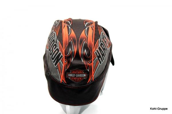 Harley-Davidson® Engulfed Flaming Skull Head Wrap, Bandana, Kopftuch HW152