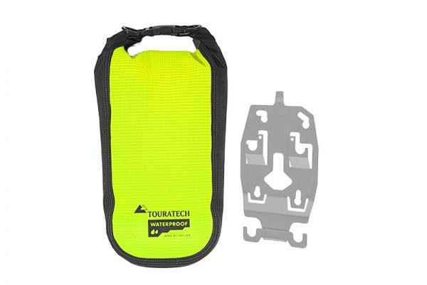 ZEGA Evo Zubehörhalter mit Touratech Waterproof Zusatztasche High Visibility, Größe L