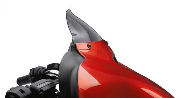Harley Davidson Wind Splitter Windschutzscheibe - Batwing Verkleidung 57400205