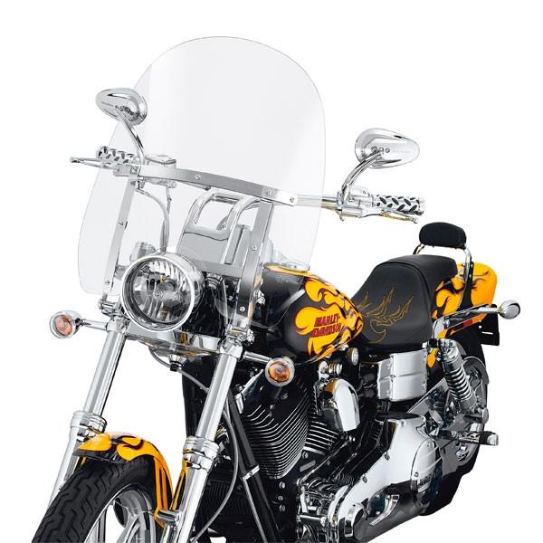 Harley Davidson Abnehmbare Kompakt-Windschutzscheibe 59802-05