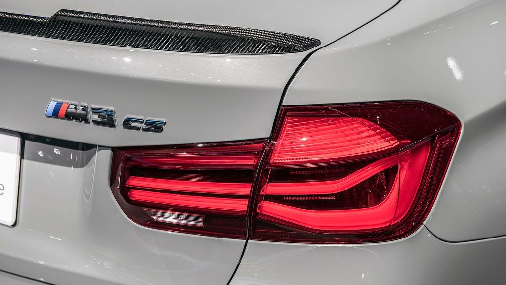 BMW 3er F30 F80 M Performance Black Line LED Heckleuchten