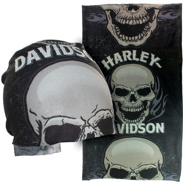 "HD Harley Davidson MULTIFUNCTIONAL HEADWEAR ""Devour"""