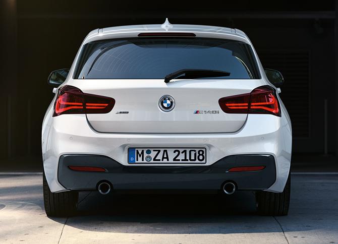 orig. BMW 1er F20 F21 LCI Heckleuchten Rücklichter Black Line LED