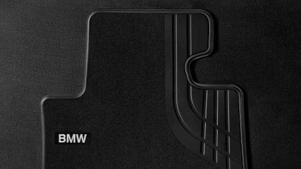4er F32 F33 Textil Fußmatten schwarz vorne ohne xDrive
