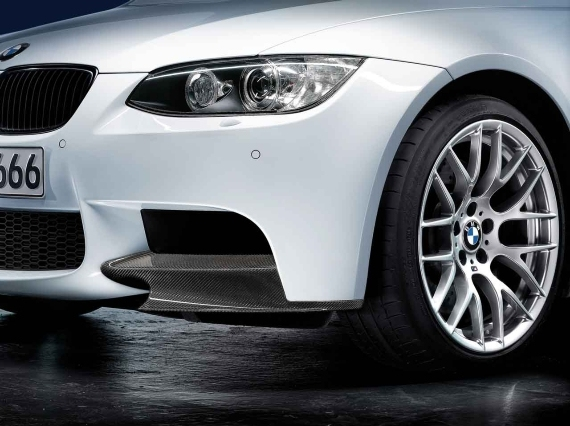 orig. BMW M Performance Frontaufsatz Carbon Flügel Links M3 E90 E92 E93