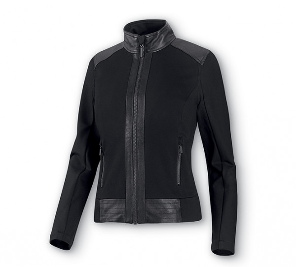 Harley-Davidson Leder & Compression Knit Jacke 98403-20VW