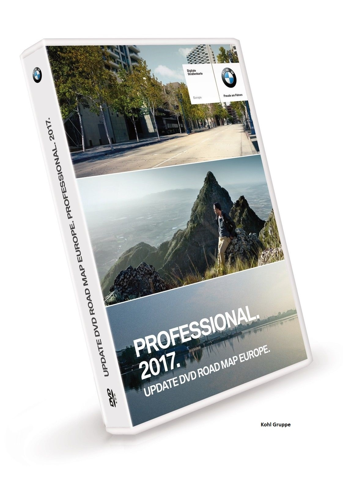 orig. BMW Navi Professional 2017 Update DVD Road Map Europa Europe