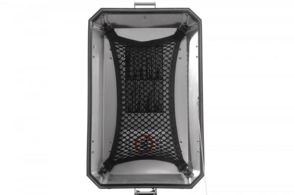 Netz M, für Deckelinnenseite für original Aluminium-Koffer BMW R1200GS-ADV und BMW F800GS/F800GS ADV