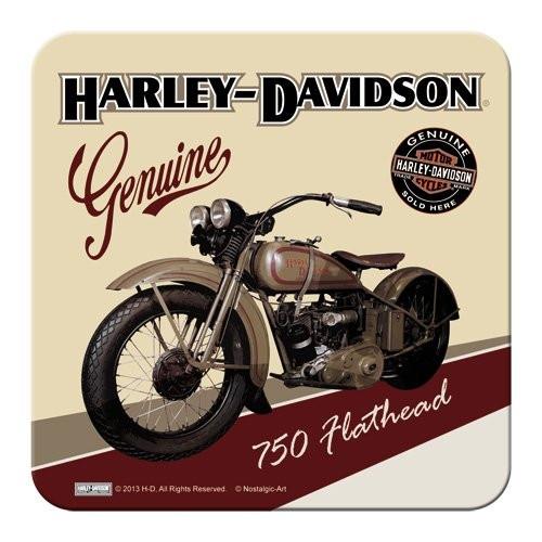 HD Harley Davidson Metal Coaster / Untersetzer 46106