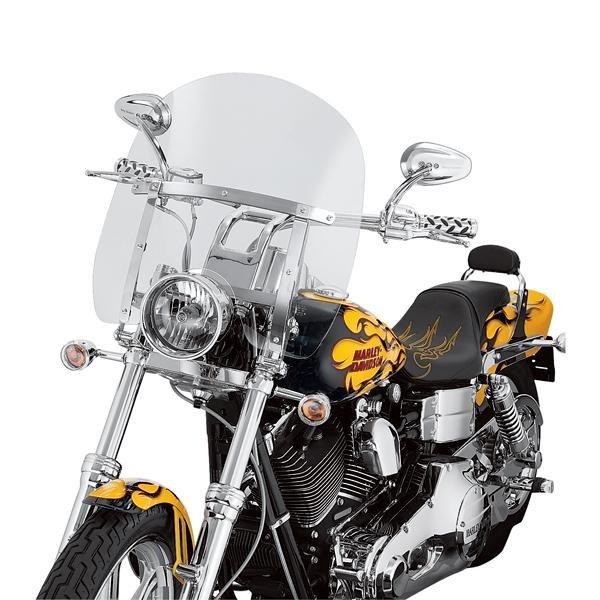 Harley Davidson Abnehmbare Kompakt-Windschutzscheibe 58387-06