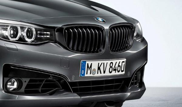 orig. BMW 3er F34 GT M Performance Frontziergitter Ziergitter Schwarz Rechts