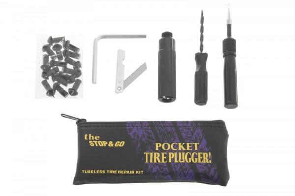 Reifenpannenset Stop&Go - Pocket Tire Plugger