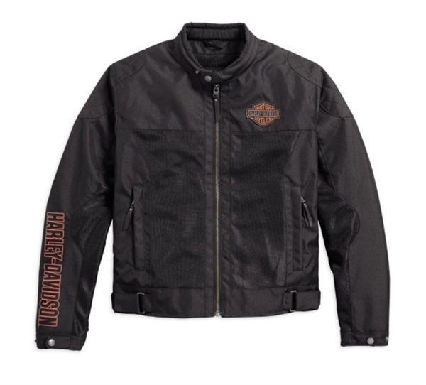 Harley-Davidson Bar & Shield ® Logo Mesh Motorradjacke 98162-17EM