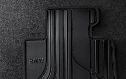 BMW Allwetter Fußmatten Basis Vorne 3er F30 F31 F34GT M3 ohne AWD