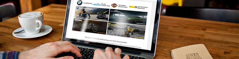 Nehmen Sie an unserem Affiliate-Partnerprogramm teil, des Kohl Online Shops