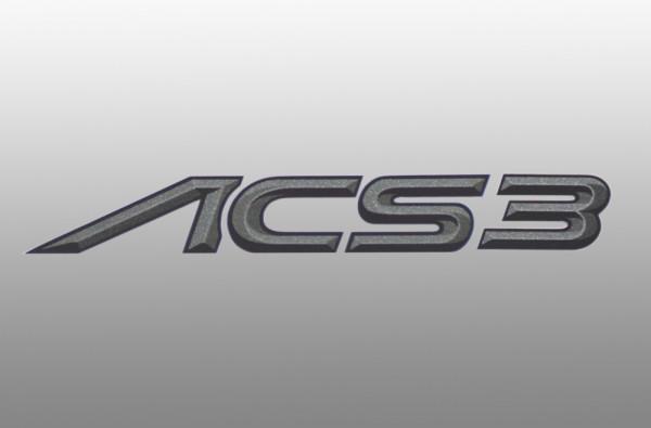AC Schnitzer Typenbezeichnung Emblem Folie ACS3 für BMW