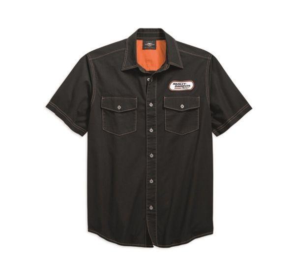 Harley-Davidson H-D® Racing Hemd Schwarz 99165-19VM