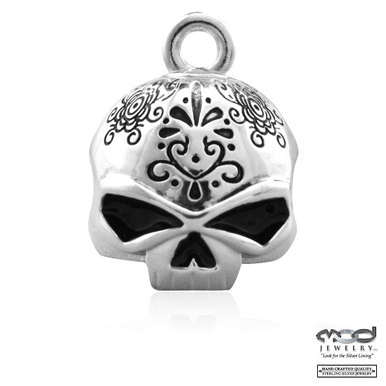 "HD Harley Davidson Riding Bell ""Day of the Dead"""
