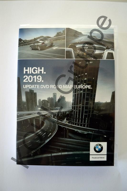 orig. BMW Navi 2019 Update DVD Road Map Europa Europe HIGH