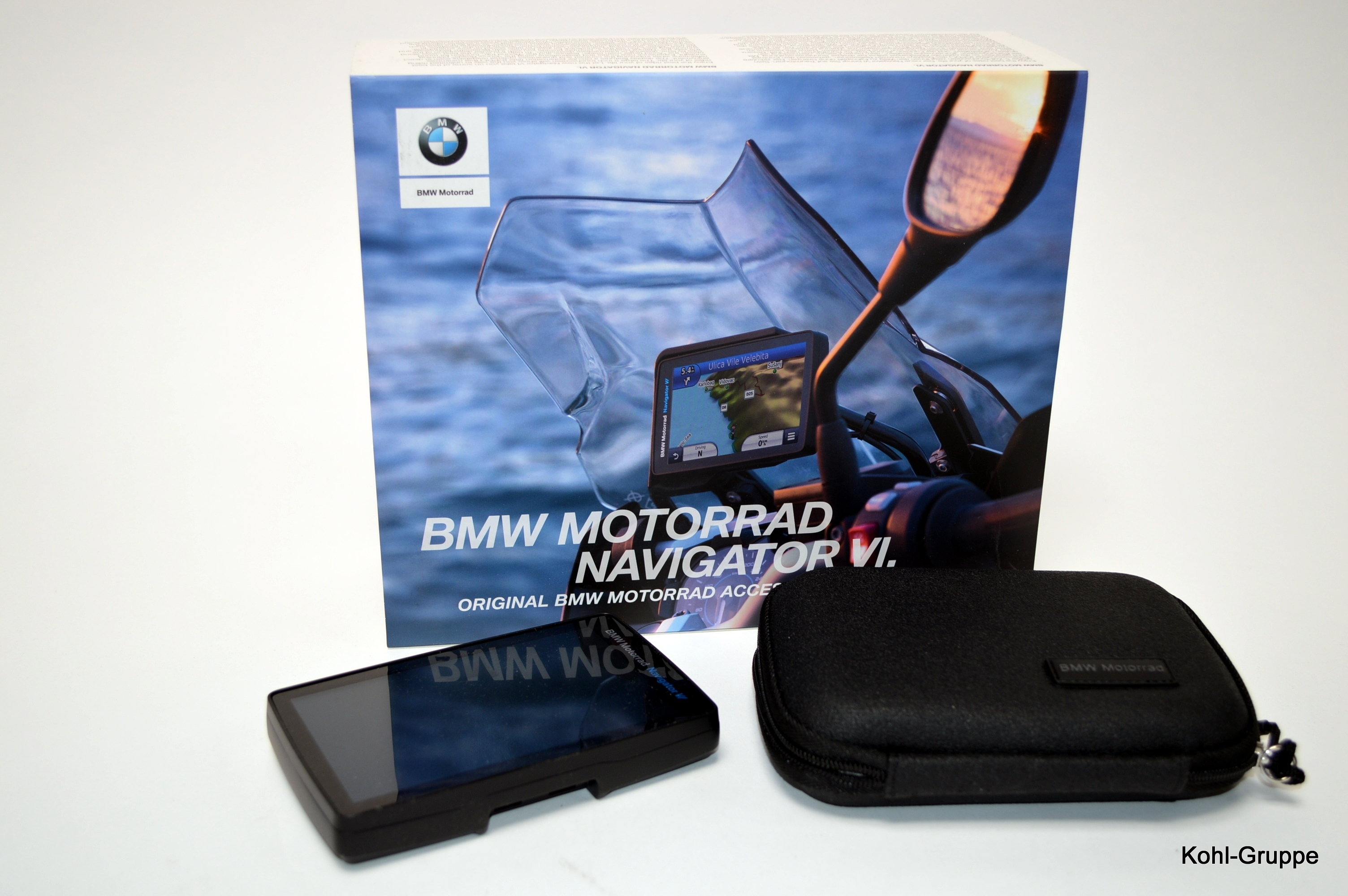 Original BMW Motorrad Navigator V inkl Lifetime-Update Europa