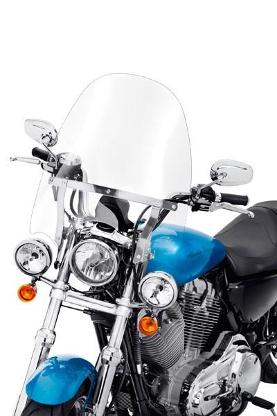 Harley Davidson H-D® Detachables™ Kompakt-Windschutzscheibe für Modelle mit Zusatzscheinwerfern 5740
