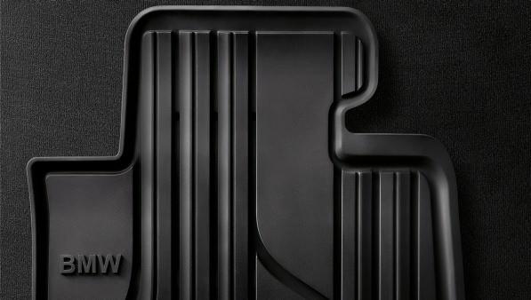 BMW Allwetter Fußmatten Gummimatten vorne anthrazit für 3er E90 E91 E92 E93