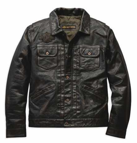 """Harley Davidson Herren Lederjacke """"Digger"""" Vintage Look 98036 19VM"""