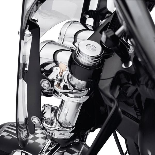Harley Davidson Abschließbare Halterung für abnehmbare Windschutzscheibe 57400007
