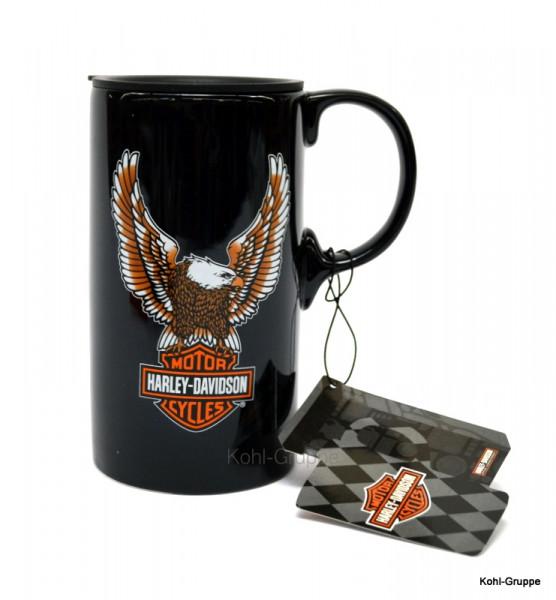 Harley Davidson Eagle Tallboy Travel Mug Tasse Isolierbecher Geschenk 3TBT4907