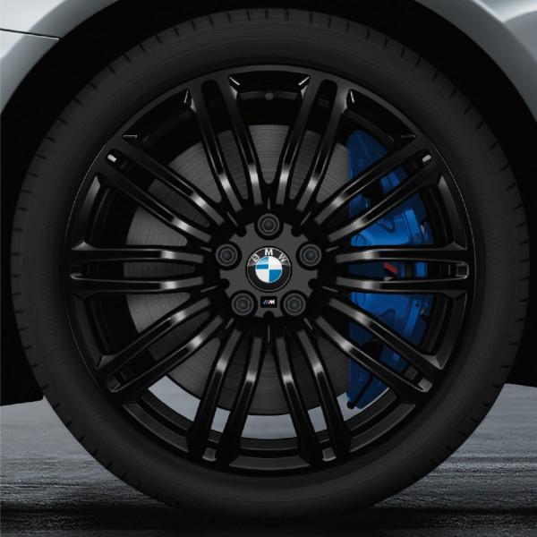 BMW Kompletträder M Doppelspeiche Schwarz II Uni / Jet Black Uni M 664M