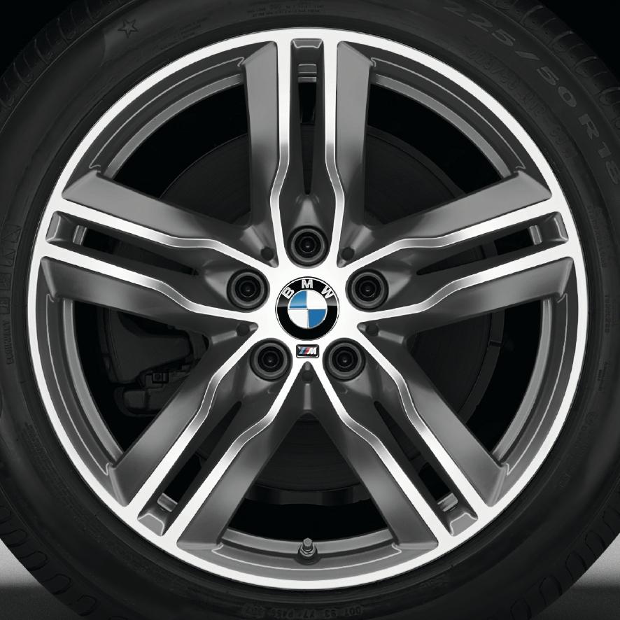 Bmw 100: BMW X1 F48 F48N X2 F39 Winter Radsatz Doppelspeiche 570M