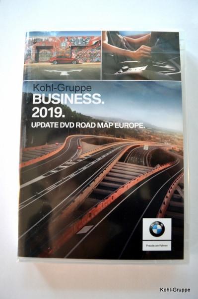 orig. BMW Navi Business 2019 Update DVD Road Map Europe