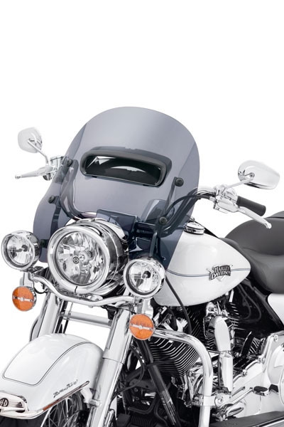 Harley Davidson Belüftete Wind Splitter Windschutzscheibe 57400176