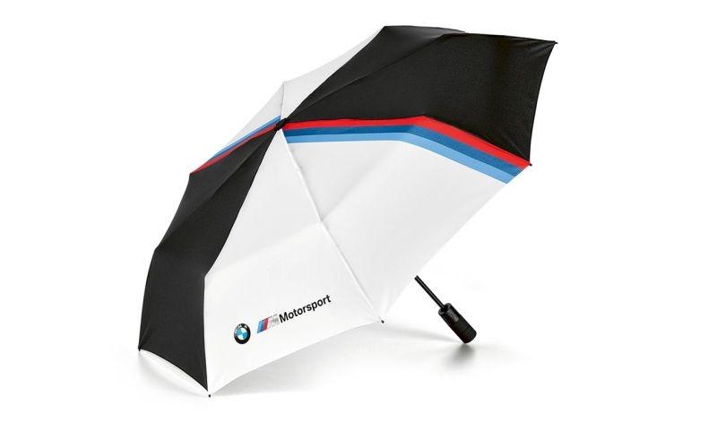 BMW M Motorsport Taschenschirm Designstreifen