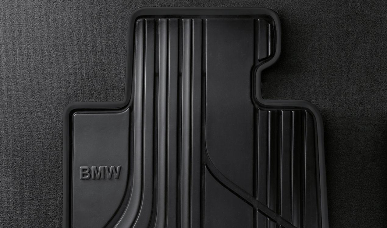 BMW Allwetter Fußmatten Gummimatten hinten anthrazitfür 3er E90 E91